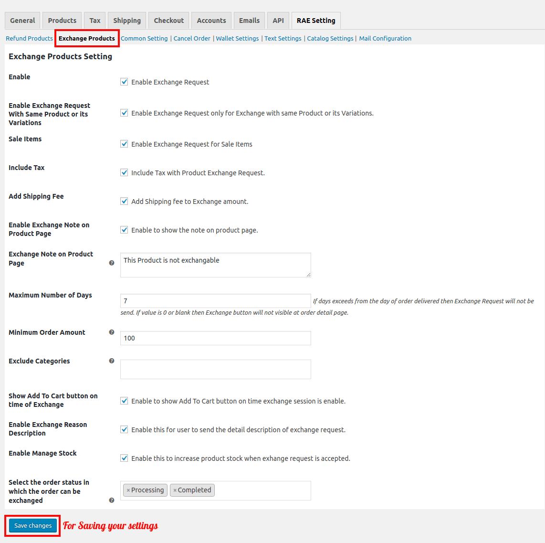 WooCommerce Refund And Exachnage-Exchange Request