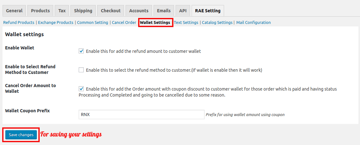WooCommerce Refund And Exchange-WalletSetting.png