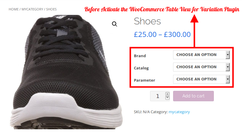 woocommerce-table-view-for-variations-product-price