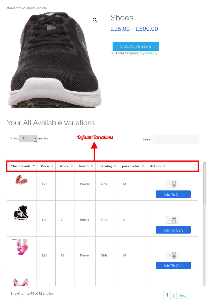 woocommerce-table-view-for-variations-default-variation-table
