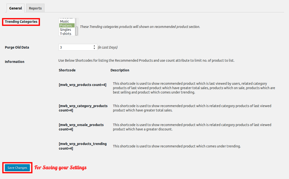 woocommerce-smart-product-recommendation-general-setting