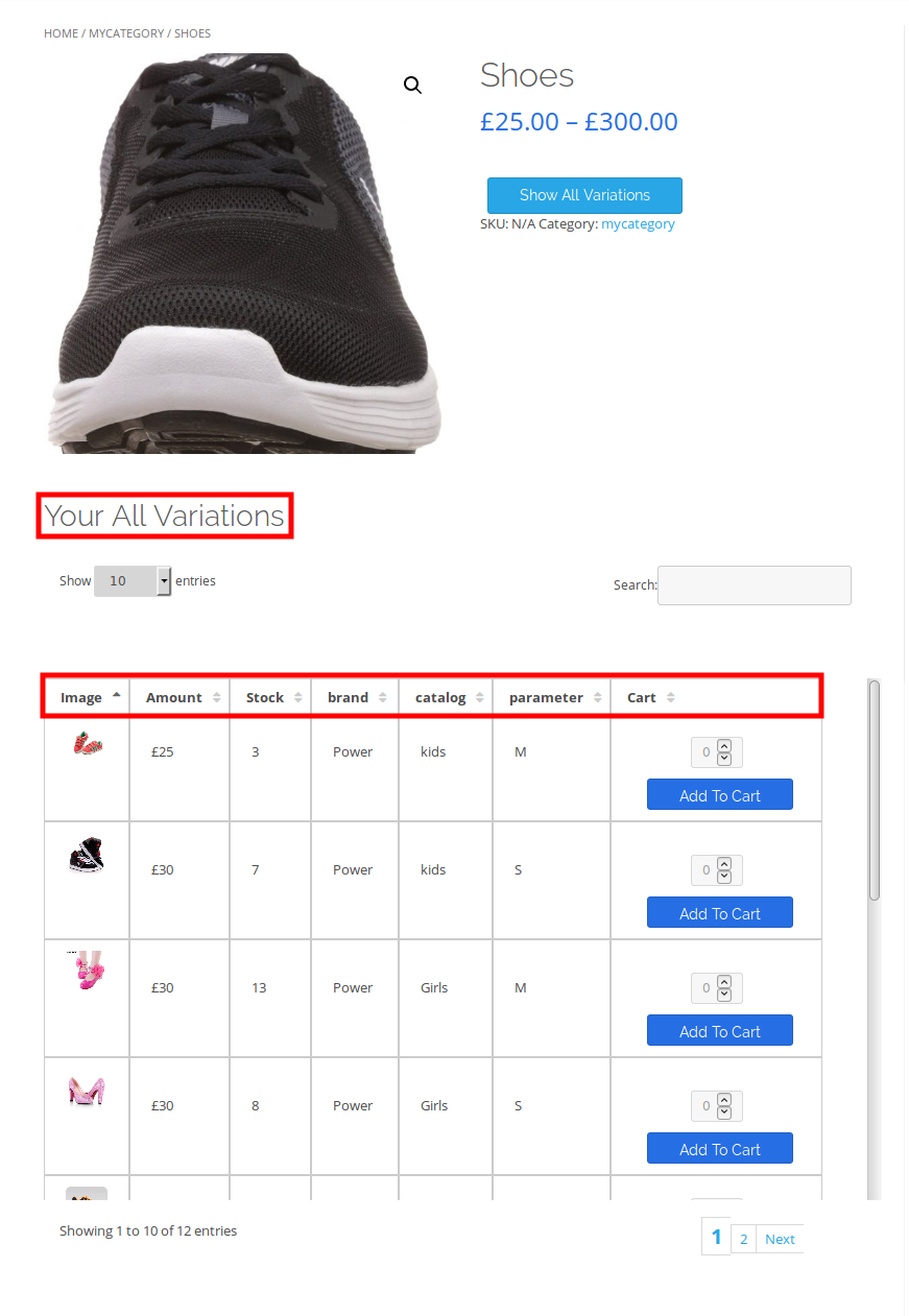 woocommerce-table-view-for-variations-all-variation