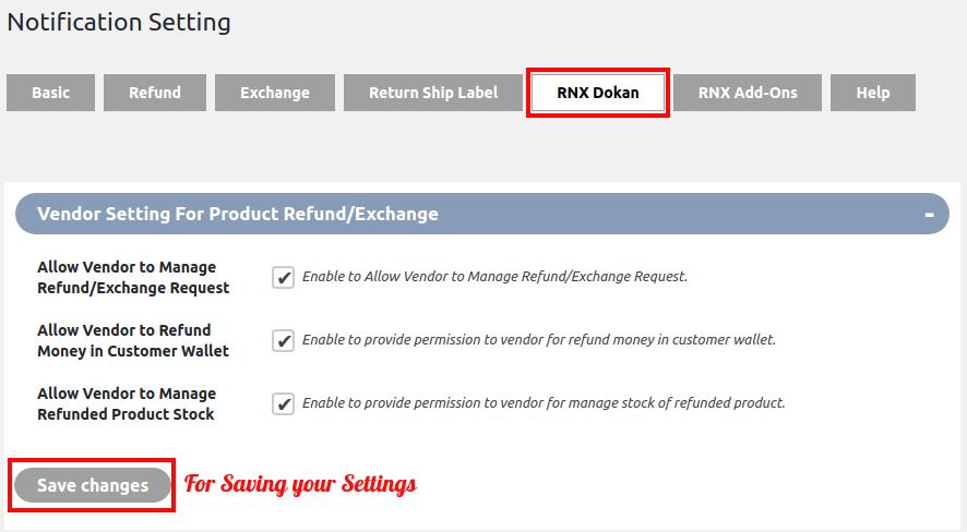 WooCommerce Refund & Exchange Dokan Addon