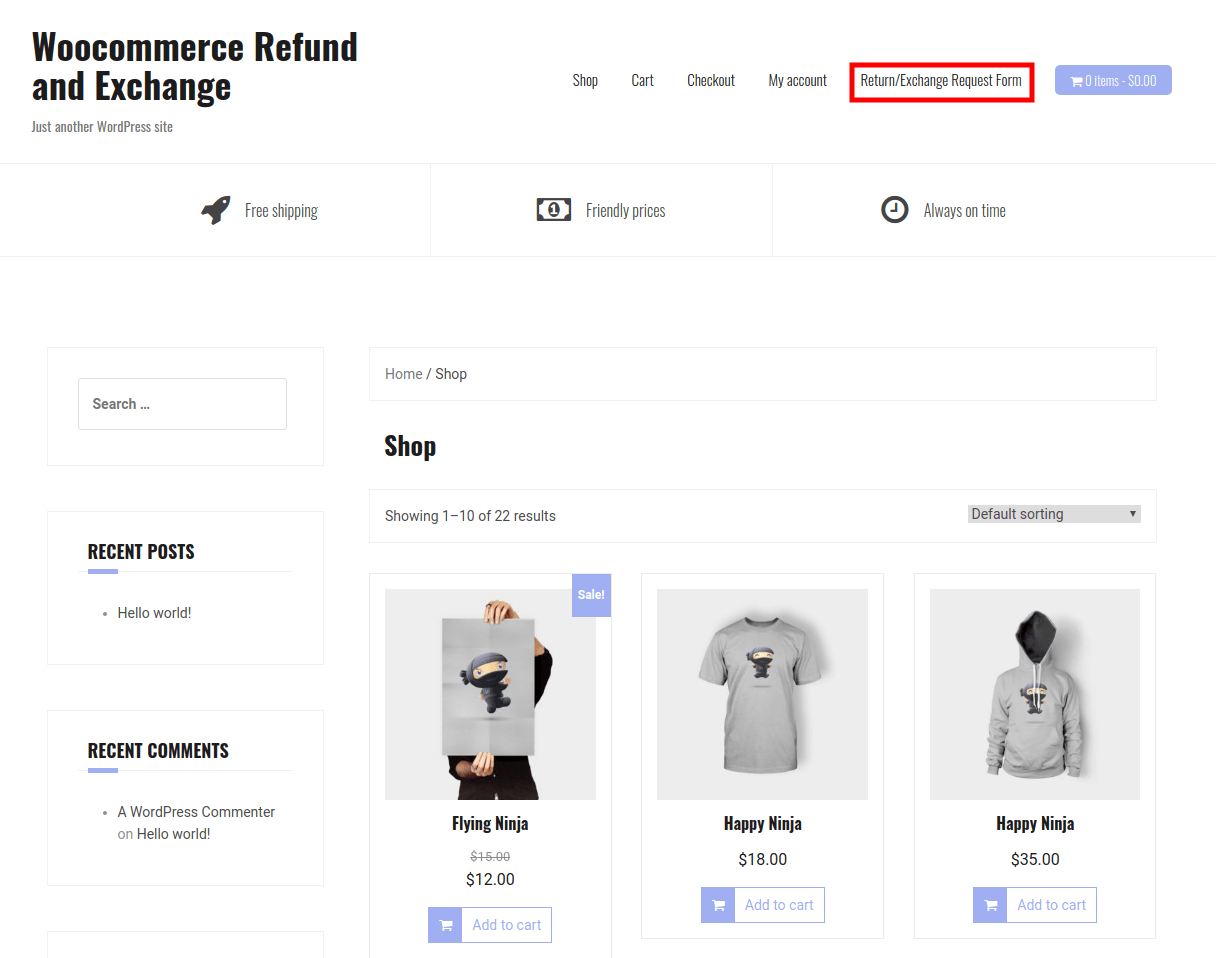 WooCommerce Refund And Exchange-Refund&Exchange-For-Guest-User