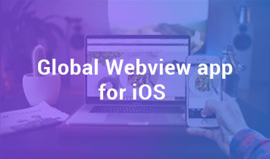 Global Webview app for iOS