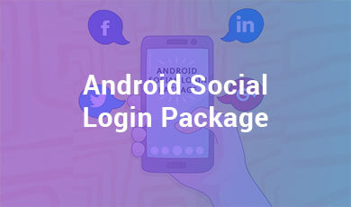 Android Social Login Package