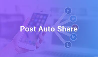 Post auto share