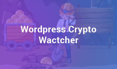 WordPress Crypto Watcher