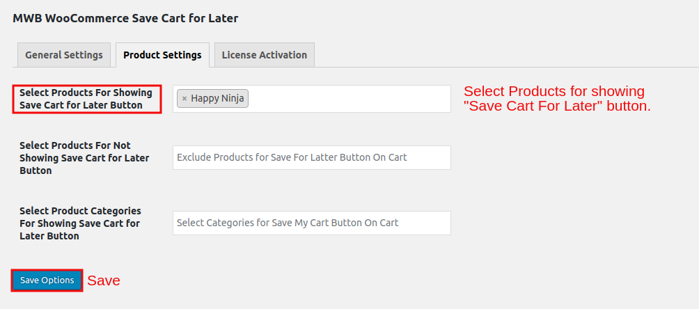 WooCommerce Save Cart for Later-ProductsForshowingButton.png