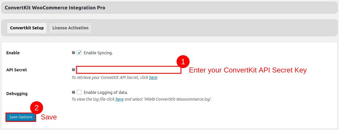 Convertkit-WooCommerce-Integration-Setup