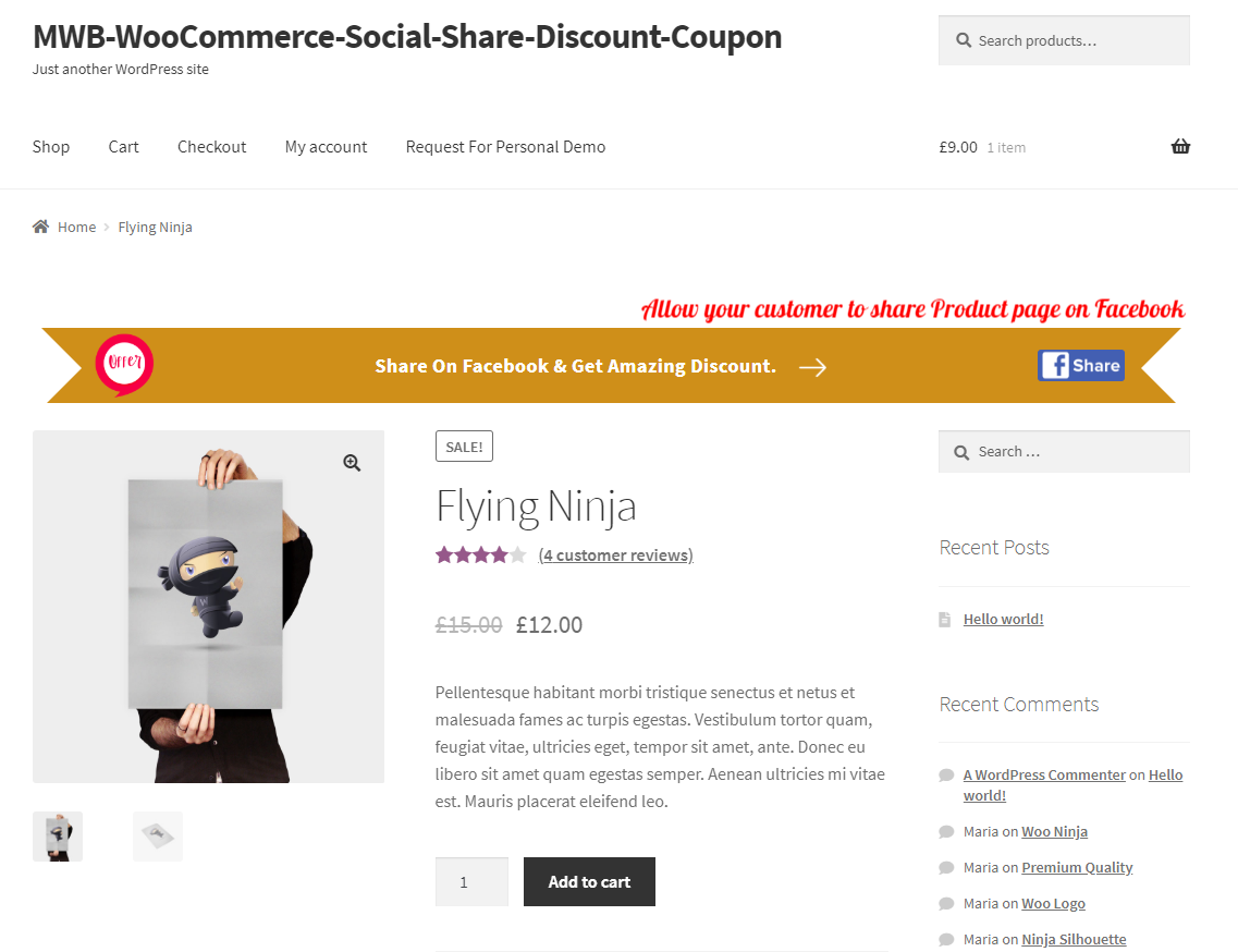woocommerce-social-share-discount-coupon-cart-page