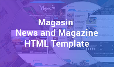 Magasin-News-and-Magazine-HTML-Template