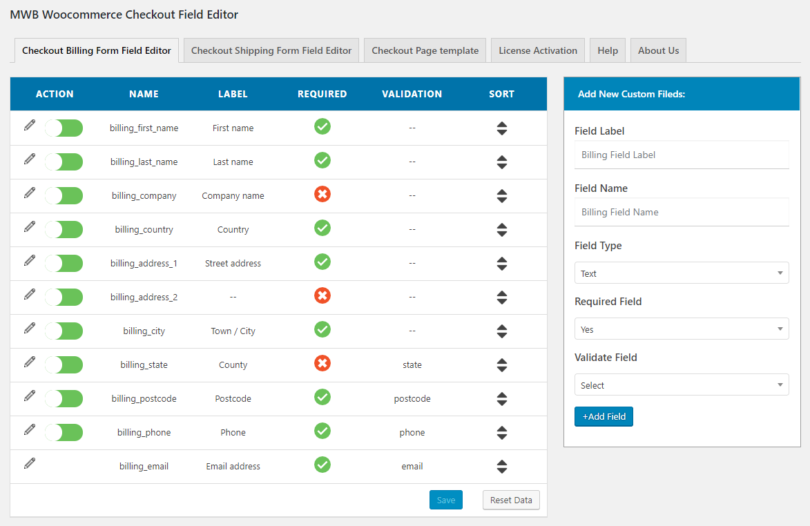 checkout-field-editor-pro-default-page