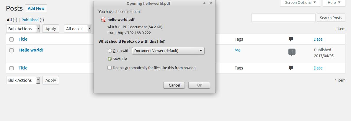 PDFGenerator-workflow