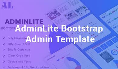 AdminLite-Bootstrap-Admin-Template