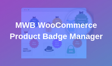 MWB WooCommerce Product Badge Manager