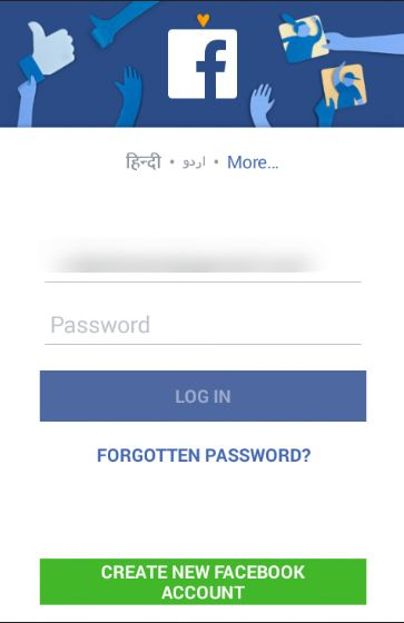 Android Social Login Package-login with facebook