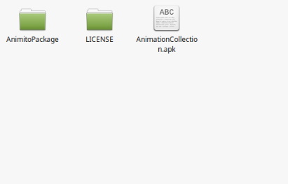 Android Animation Package-Animation Collection file