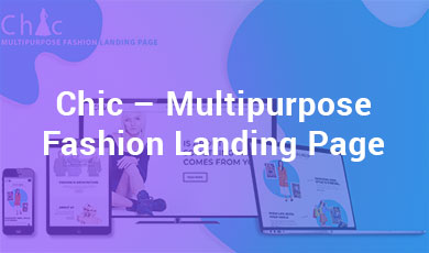 Chic-Multipurpose-Fashion-Landing-Page