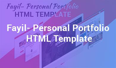 Fayil--Personal-Portfolio-HTML-Template