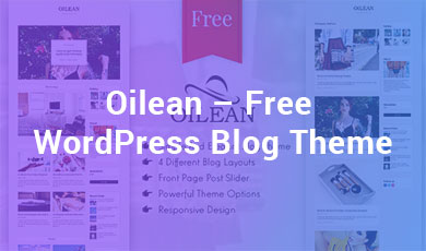 Oilean-Free-WordPress-Blog-Theme