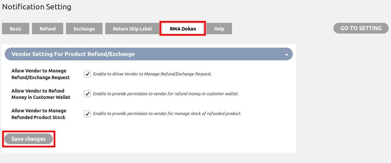 WooCommerce Refund & Exchange Dokan Addon - RMA dokan
