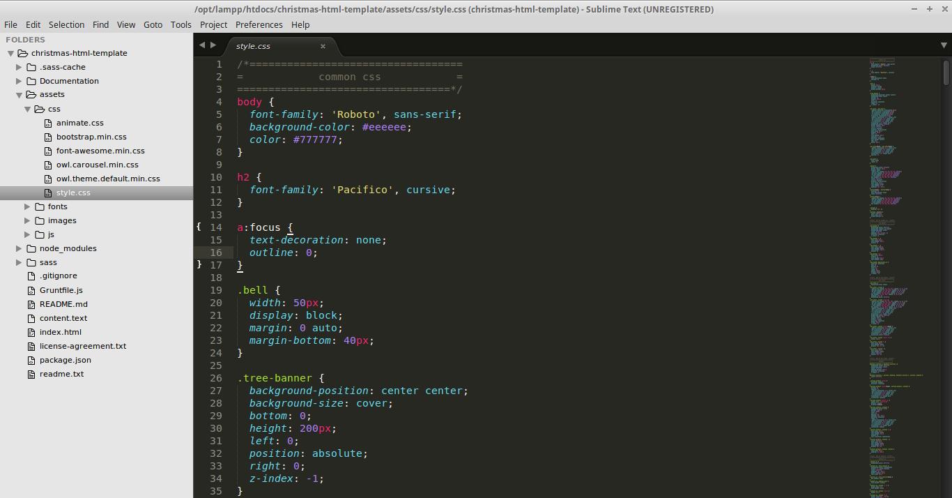 Christmas HTML Template-doc-css-image