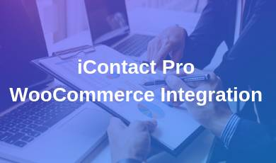 iContact Pro WooCommerce Integration
