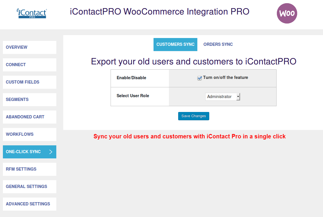 iContact-WooCommerce-Integration-Customer Sync