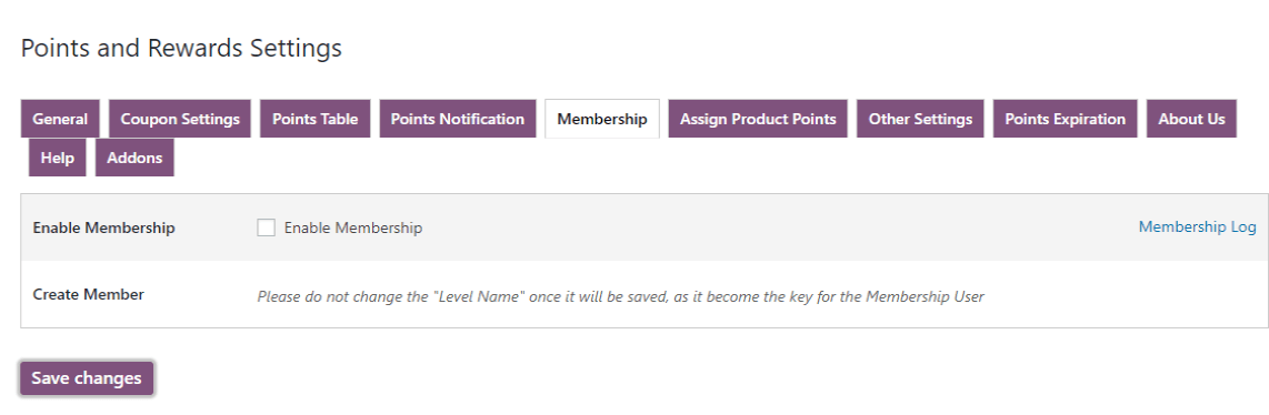 woocommerce points and rewards-create-member