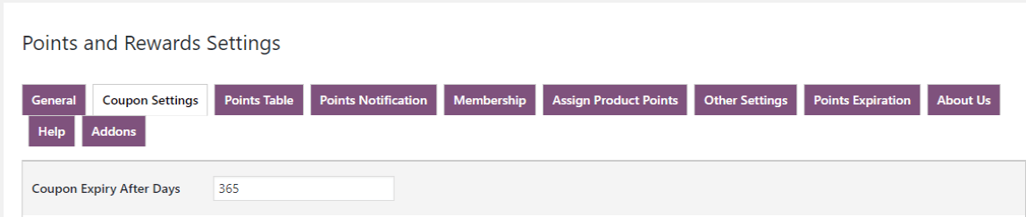 woocommerce points and rewards-expiry-date