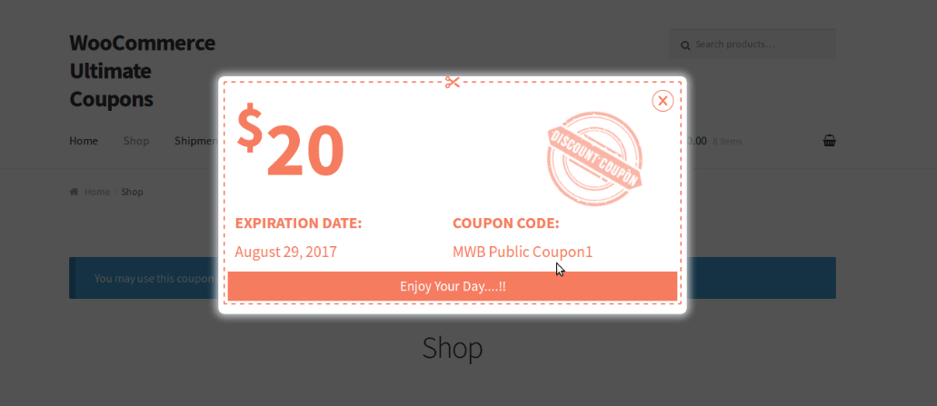 woocommerce ultimate coupon