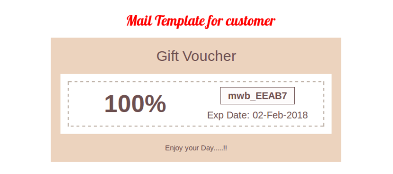 woocommerce ultimate coupons mail template