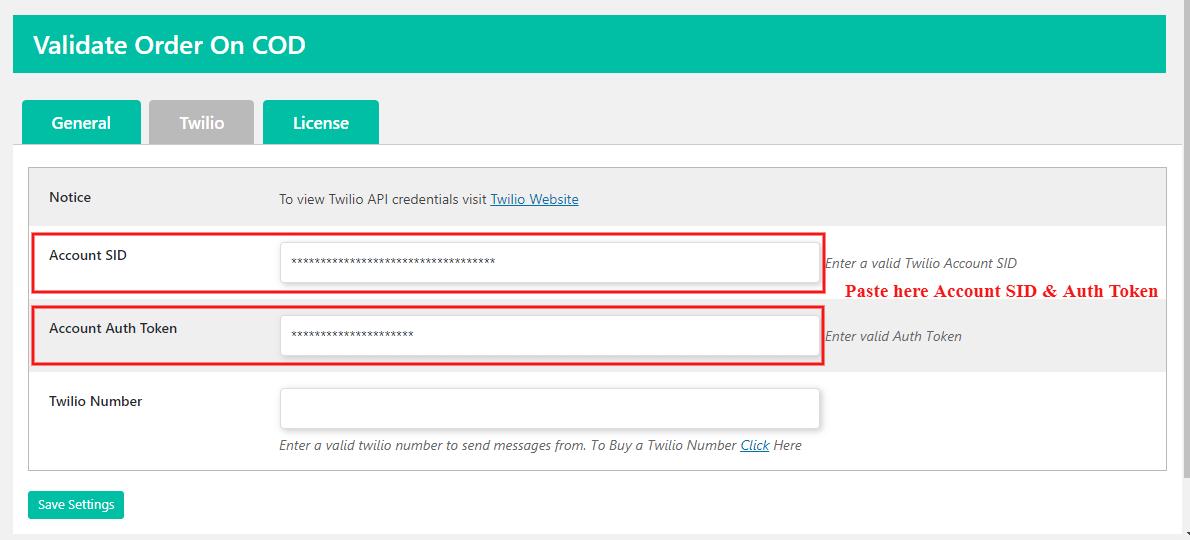validate-order-on-cod-get-paste-account-credential