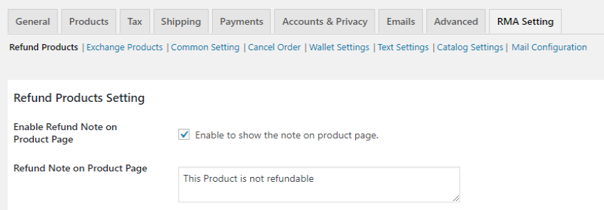 woocommerce-refund-and-exchange-note-product-page-png