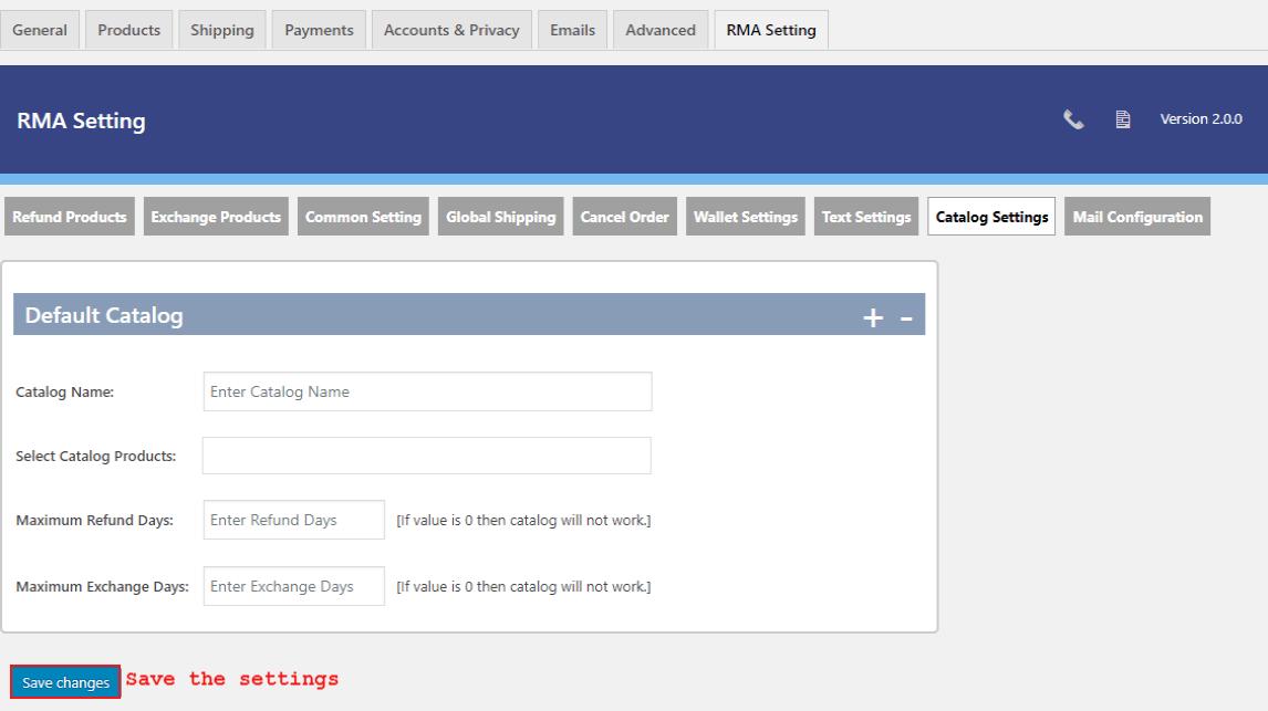 woocommerce-return-refund-exchange-catalog-setting