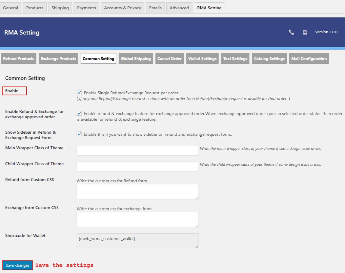 woocommerce-return-refund-exchange-common-setting