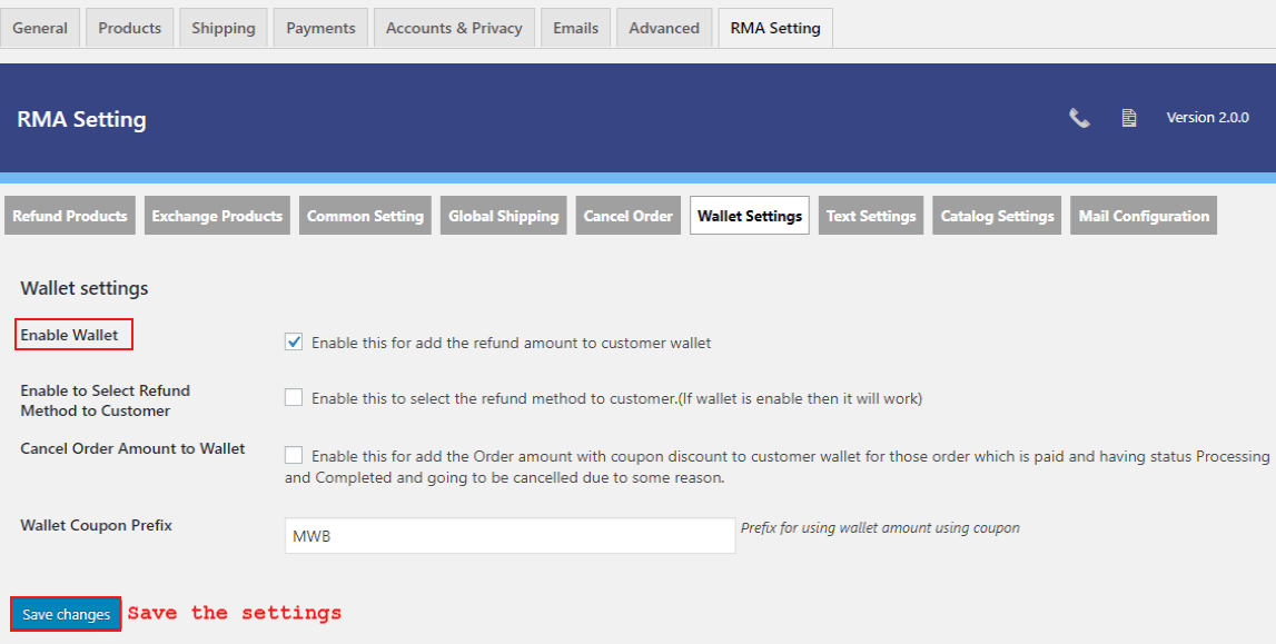 woocommerce-return-refund-exchange-wallet-setting