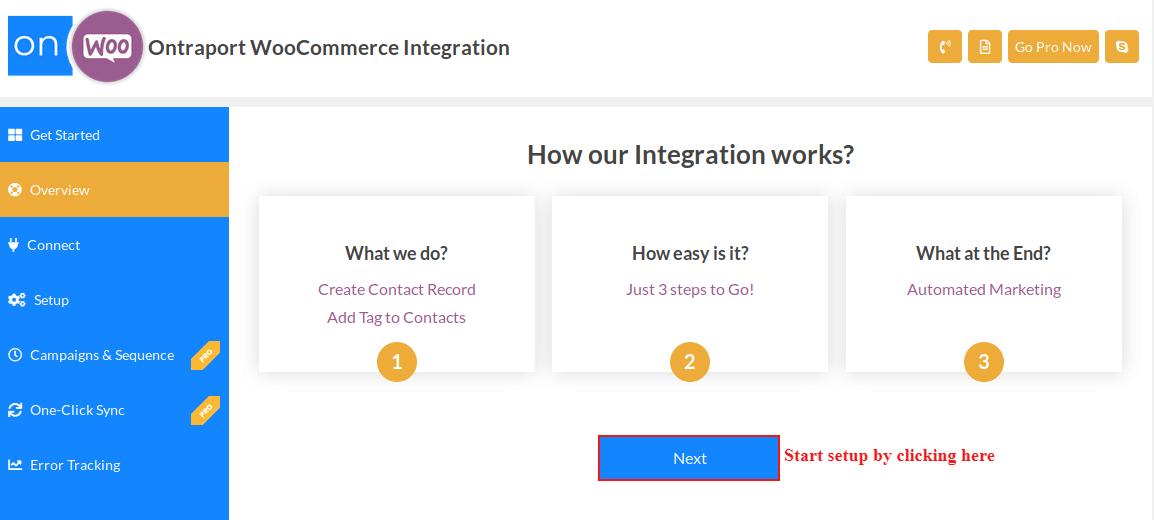 ontraport-woocommerce-integration-start