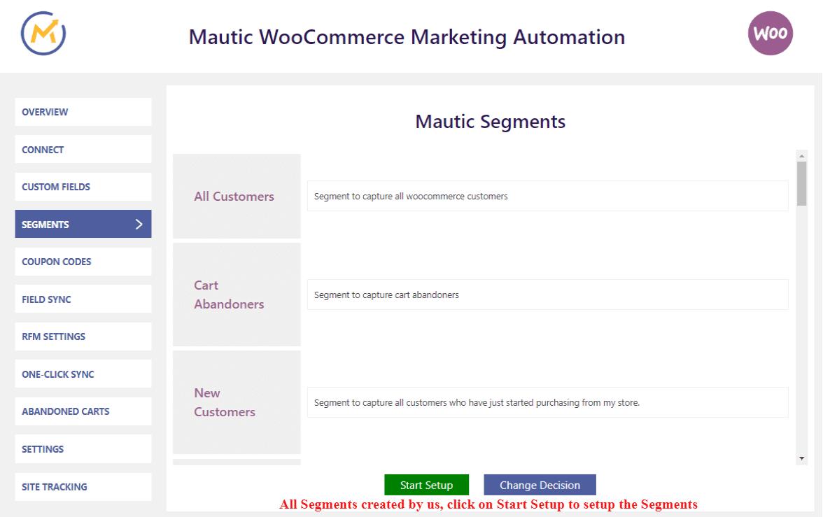 Mautic-integration-setup-segments
