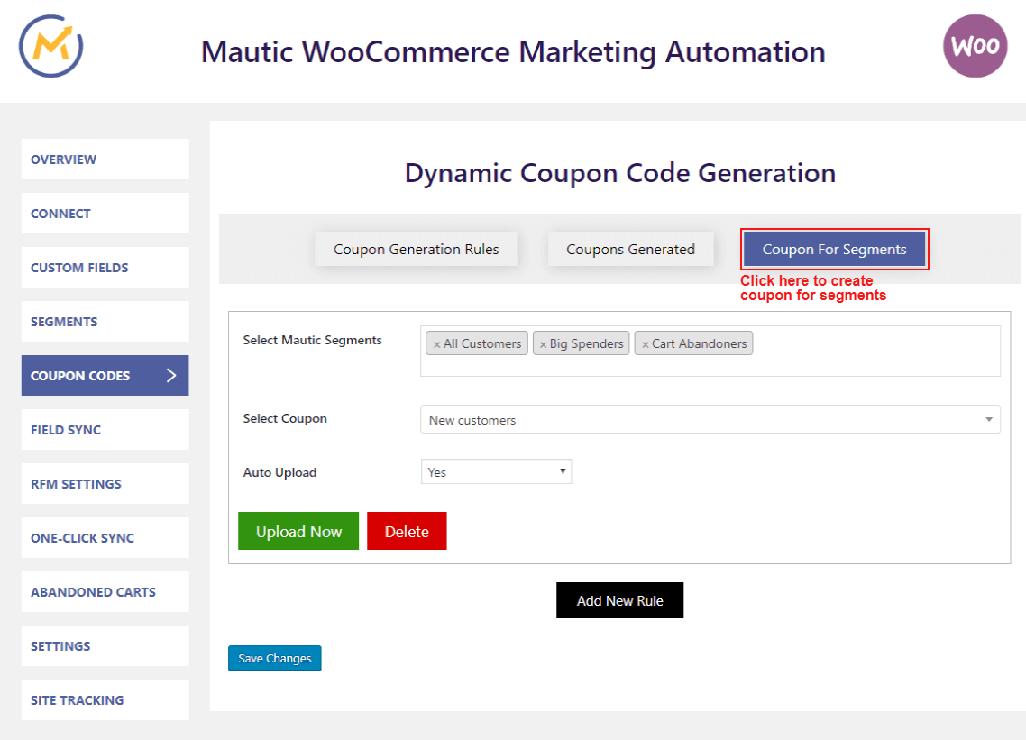 mautic-woocommerce-integration-generate-coupon-for-segments
