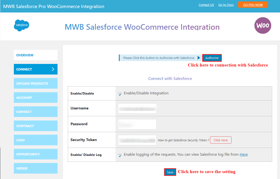 salesforce-woocommerce-integration-connection-with-salesforce
