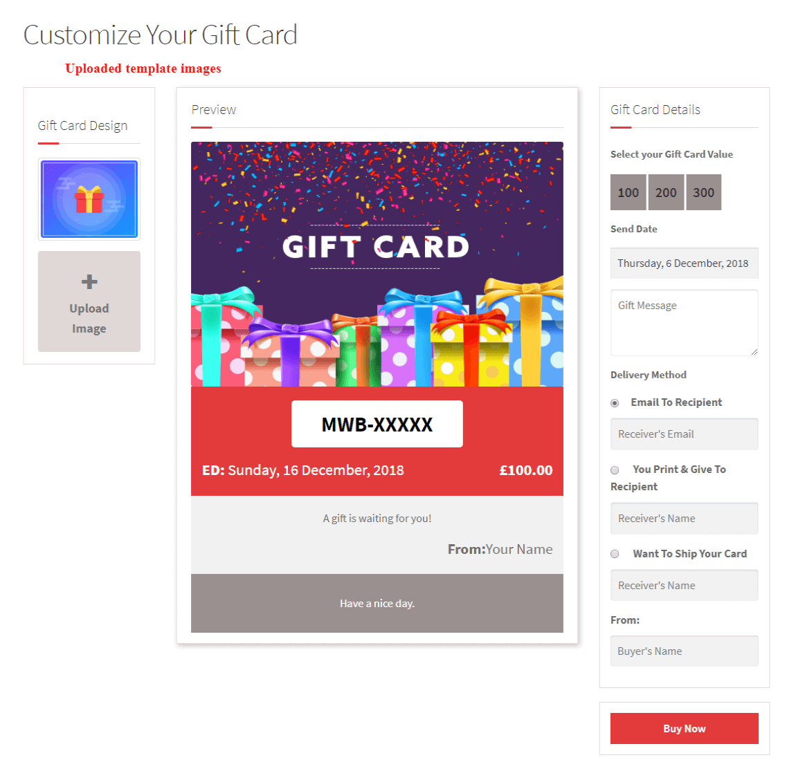 woocommerce-customizable-gift-card-uploaded-template-images-frontend