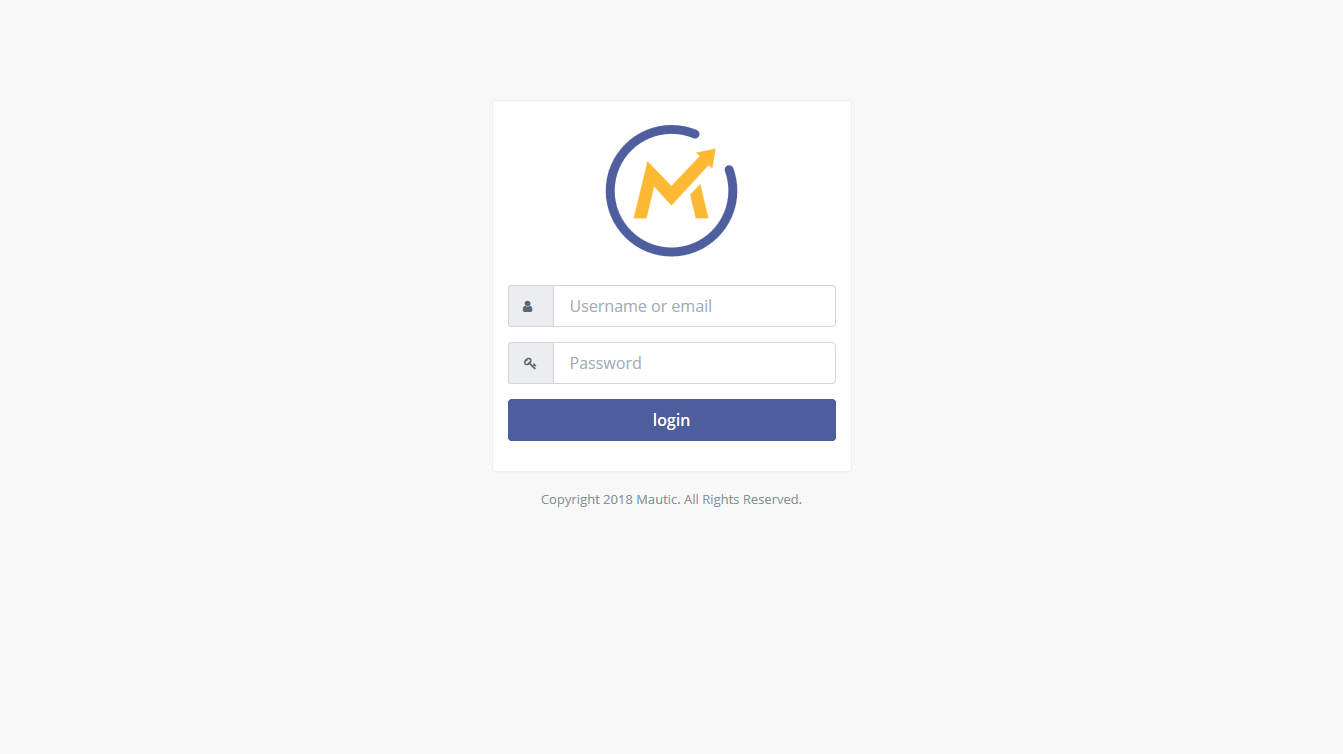 woocommerce-mautic-integration-mautic-login
