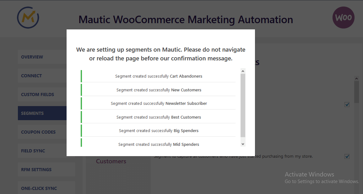 woocommerce-mautic-integration-segments-3