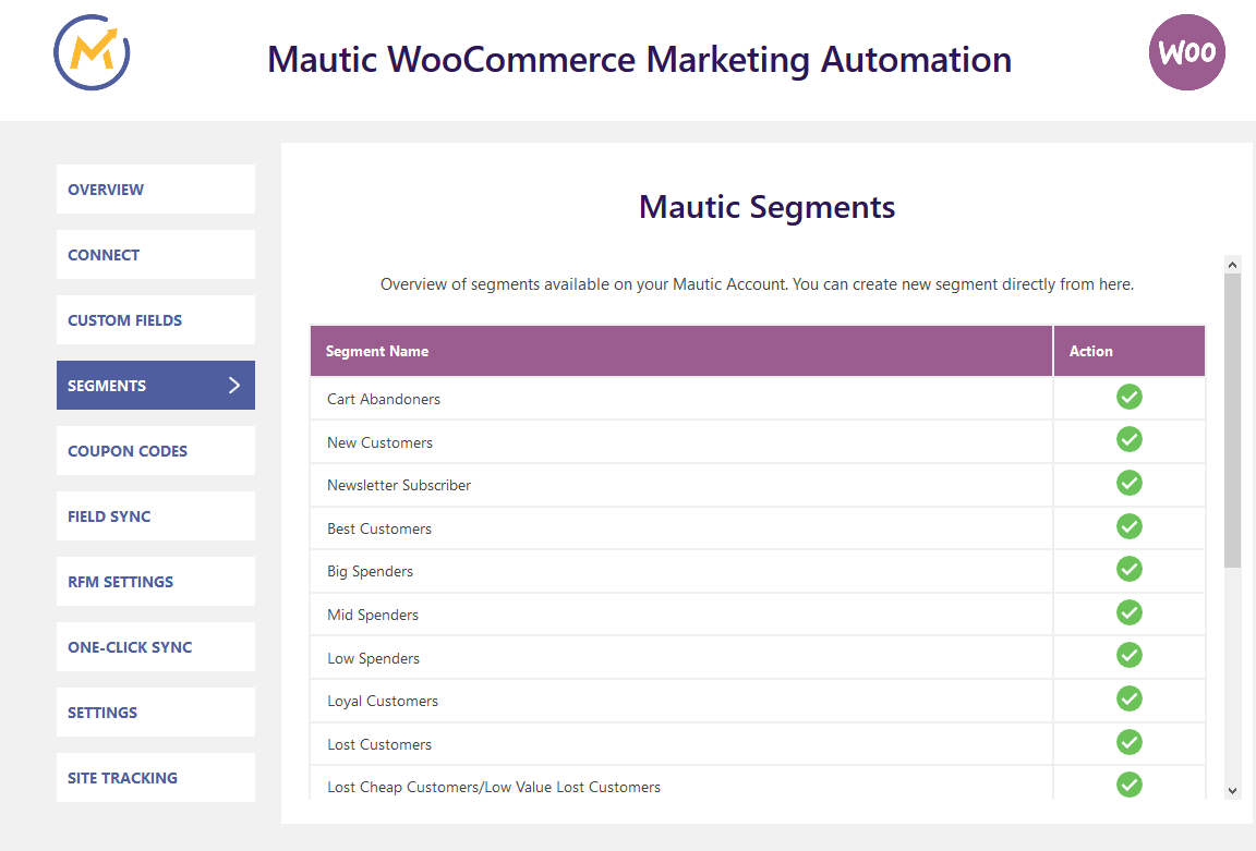 woocommerce-mautic-integration-segments-4