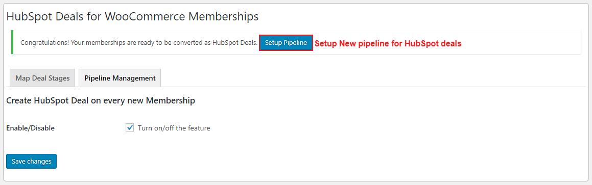 hubspot-deals-for-woocommerce-membership-new-pipeline