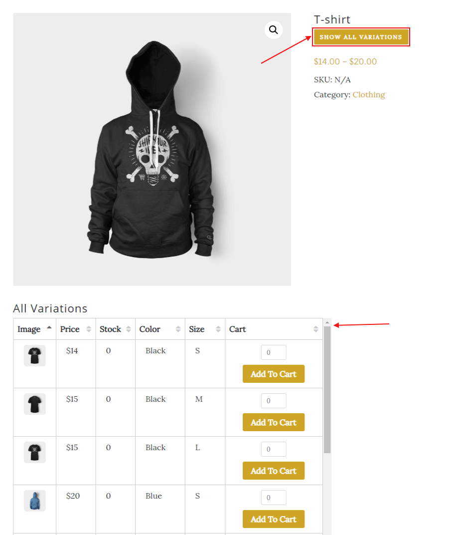woocommerce-table-view-for-variations
