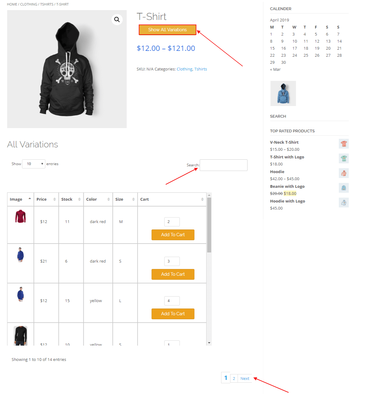 woocommerce-table-view-for-variations-pagination