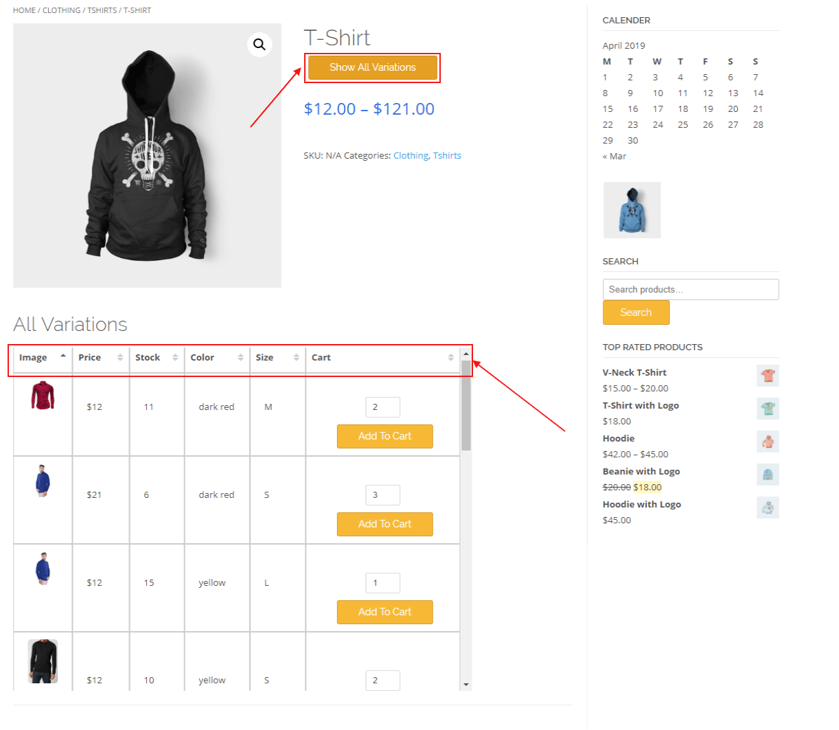 woocommerce-table-view-for-variations-table
